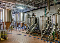 High Efficiency Mash Tank Brewhouse Equipment , Thick 500L Brewpub Equipment supplier