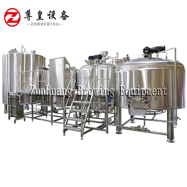 10BBL / 15BBL Beer Fermentation Equipment , 2MM Outer Tank Craft Beer Equipment supplier