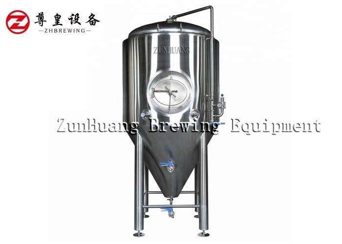 Multi Volume Beer Fermentation Tank For Microbrewery Machine 3 Years Warranty supplier
