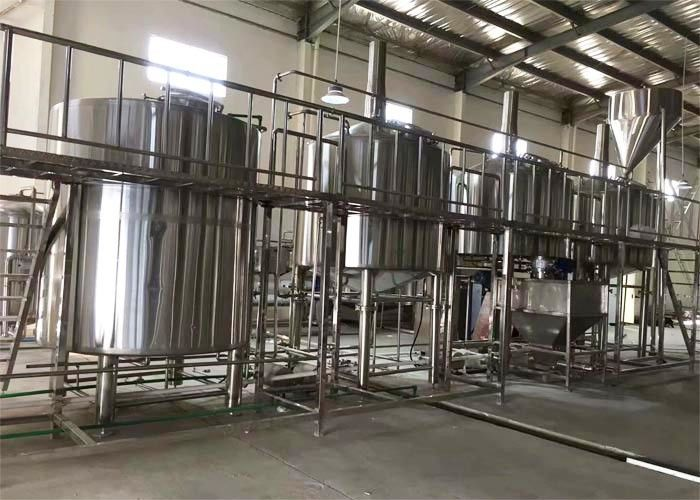 2500 L Commercial Beer Brewing Equipment Beer Fermentation System For Brewery supplier