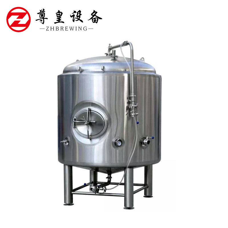 20BBL Fermentation Bright Storage Tank , Stainless Steel Beer Tank CE ISO9001 supplier